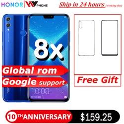 Honor 8X smartphone mobile phone 6.5'' full Screen OTA update Smartphone Mobile phone Android 8.1 Octa Core fingerprint ID