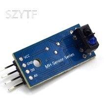 Um interruptor fotoelétrico reflexivo infravermelho tcrt5000 do sensor de rastreamento do módulo