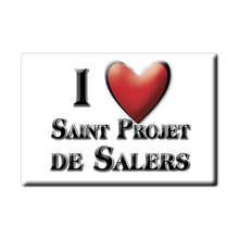 Aimant pour réfrigérateur SOUVENIR j'aime cadeau France aimant pour réfrigérateur lodestone PROVENCE ALPES CÔTE D'AZUR (15)
