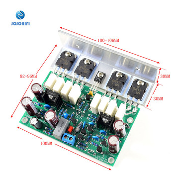L20 200W 8R VER 10-AP2 Subwoofer Mono Power Amplifier AMP Finished Board With Angle Aluminum 1pair pass am single ended class a power amplifier board 10w with balanced input finished board