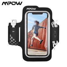 Mpow Sport Gym Arm Band Adjustable Running Armband On Hand Cell Phone Bag For iPhone Case XS X Huawei P20 Xiaomi