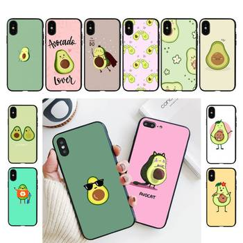 Babette Funny sweet avocado Phone Case For iPhone 11 8 7 6 6S Plus X XS MAX 5 5S se 2020 11 12pro max iphone xr case image