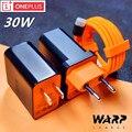 Зарядное устройство Oneplus 7T Pro Mclaren Warp charge 5V/6A 30W USB Dast кабель адаптера питания для oneplus 8 pro 7 7T Pro 5 5t 3t