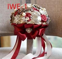 Düğün gelin aksesuarları tutan çiçekler 3303 IWE