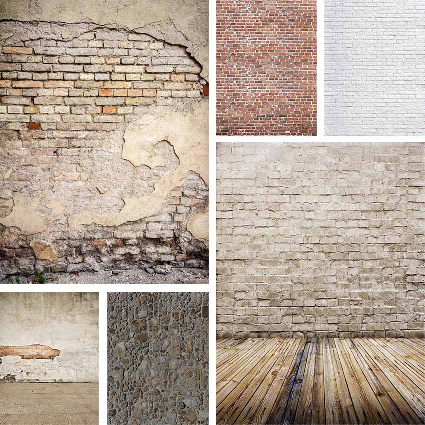 Cement Brick Surface Solid Wall Background Wedding Baby Photography Background Custom Photography Studio Photography Background