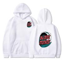 Newest Japanese hoodie with wavy print, 2019, japanese style hip hop casual sweatshirt KODAK Stre