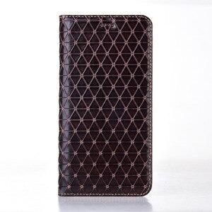 Image 5 - マグネットナチュラル本革スキンフリップウォレットブック電話ケースカバー xiaomi redmi 4X 4A 5A 5 プラス 4 × 5 プラス 16/32 ギガバイト