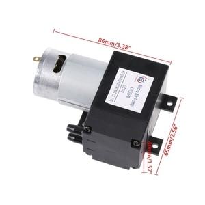 Image 5 - 12 6v ミニ真空ポンプ 8L/分高圧吸引ダイヤフラムはホルダー