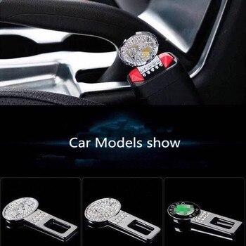 1 шт. Накладка для ремня безопасности автомобиля зажим Безопасность Ремни разъем для BMW Mercedes Audi Honda Toyota Jeep сиденье для Ford с ремешком и пряжкой|Ремни безопасности и накладки|   | АлиЭкспресс