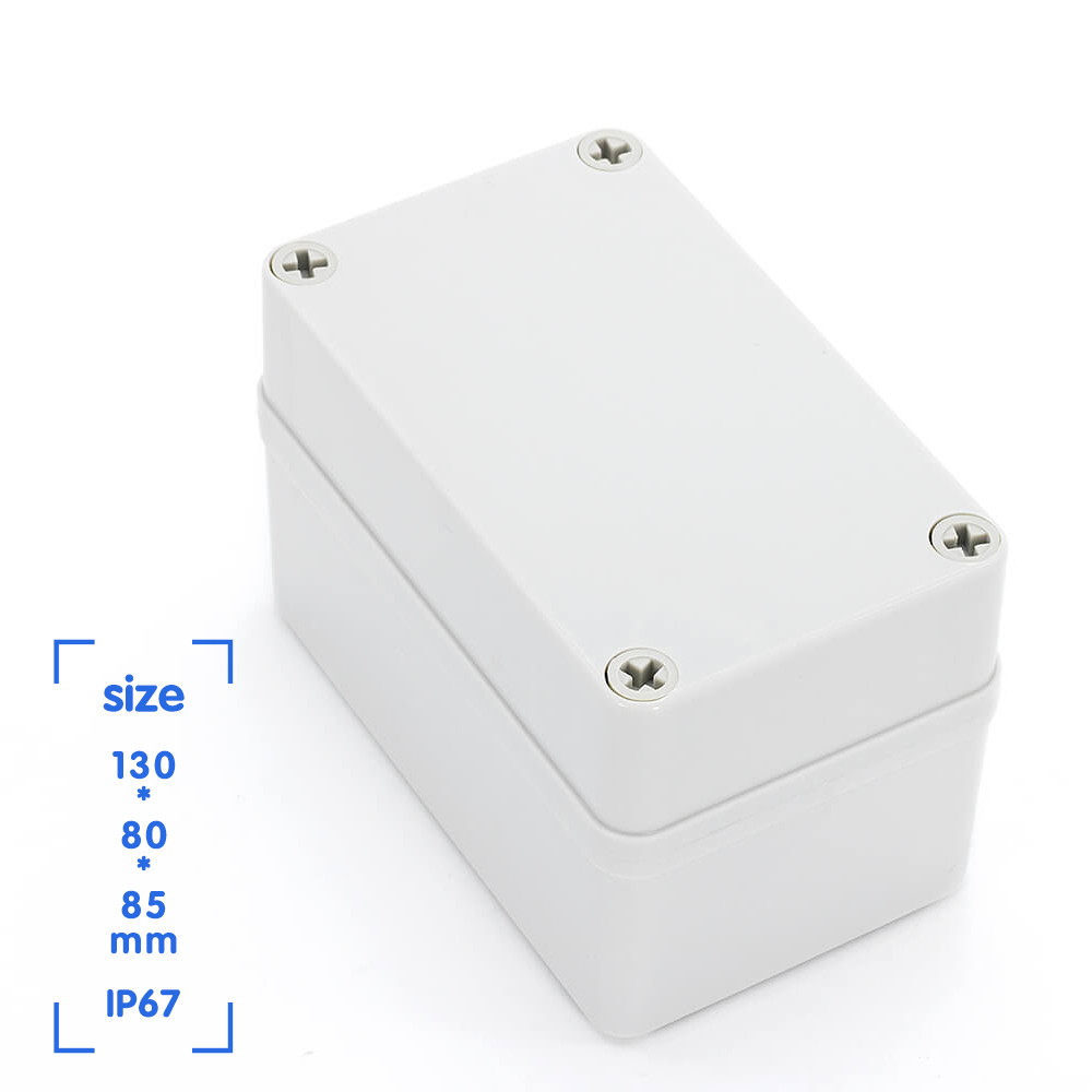 New Waterproof Plastic Enclosure Box Abs Plastic Electrical Project Box Outdoor Junction Box Housing Wire Junction Boxes Aliexpress