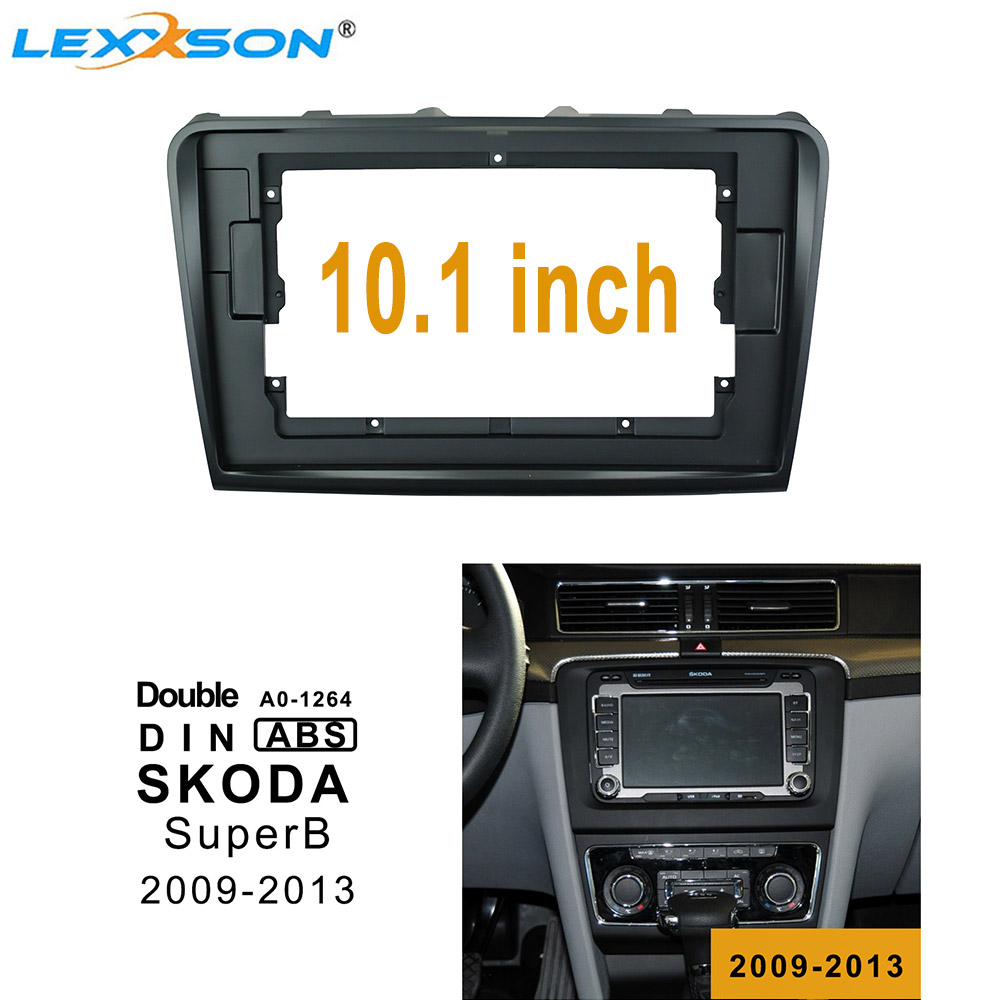 Fits Hyundai Sonata 2009-2010 Double DIN Harness Radio Install Dash Kit