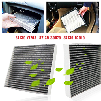 Car Pollen Cabin Air Filter 87139-YZZ08 87139-30070 87139-07010 For Toyota Auris Avensis Camry Corolla Hilux RAV4 Prius Yaris - sale item Auto Replacement Parts