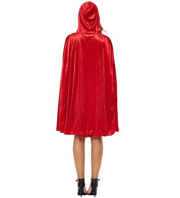 Фото s 3xl толще с маленькой красной накидкой капюшоном платье красное цена
