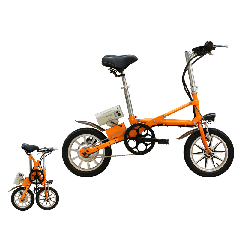 mini fast foldable electric bicycle 250w folding e-bike 1
