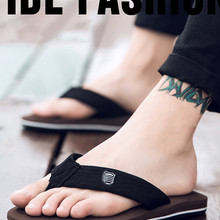 Beach Sandals Flip-Flops Casual-Shoes Anti-Slip Wholesale Summer Men High-Quality Zapatos