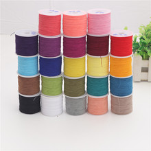 Stitch-Cord Rope String Garment-Accessories Thread Kniting Elastic Craft 23-Colors Diy