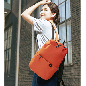 Image 3 - 2020 New Xiaomi Colorful Mini Backpack Bag 8 Colors Level 4 Water Repellent 10L Capacity 165g Weight YKK Zip Outdoor Smart Life