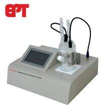 Óleo do transformador do equipamento de teste do ppm do índice da umidade do óleo coulometric karl fischer
