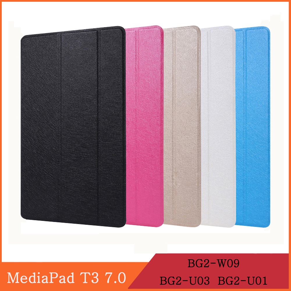 Чехол для Huawei MediaPad T3 7,0, умный защитный чехол с магнитной застежкой и подставкой, с функцией подставки, Wi-Fi, 3G, Wi-Fi, LTE, для Huawei MediaPad T3 7.0. 1.