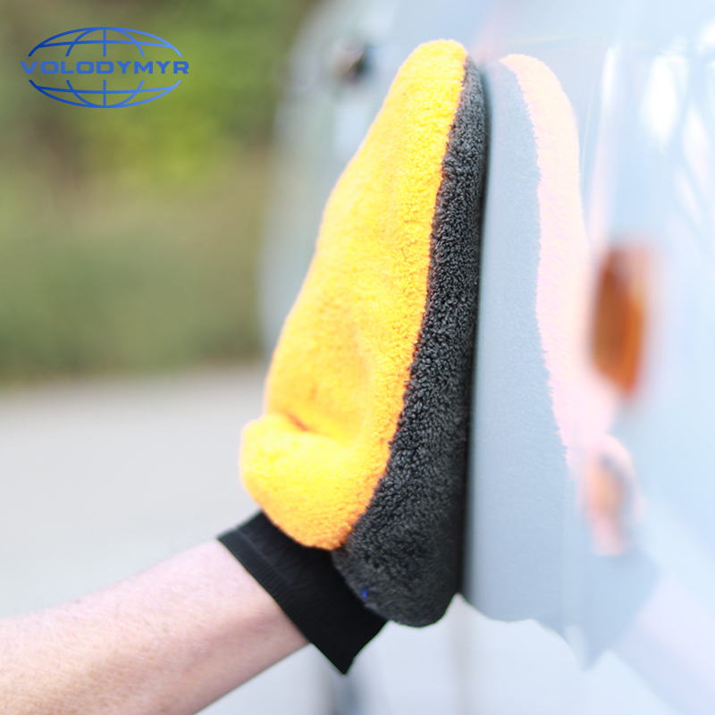 Wash Mitt Car Wash Detailing Car Cleaning 2pcs Per Lot Microfiber Glove Brush Accessoires Auto For Clean Washing Tools Sponge