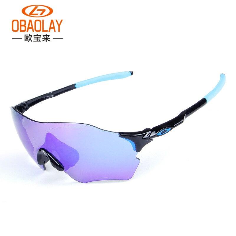 New Style Sun Glasses Ev Zero Men Polarized Light Riding Sun Glasses Colorful Coatings Goggles