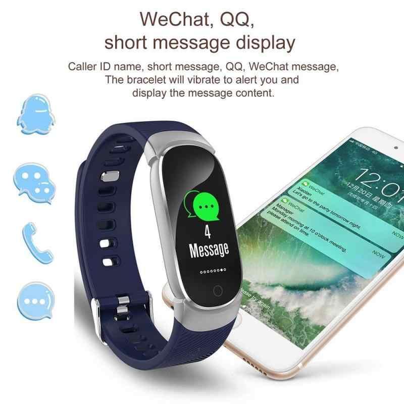 QW16 Smart Watch Bloeddrukmeter Armband Hartslag Met Stappenteller Bluetooth Waterdichte Fitness Voor Ios En Android
