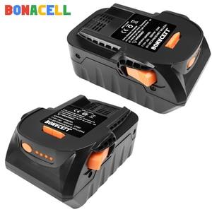 Аккумуляторная батарея для RIDGID, литий-ионная батарея серии AEG, 6,0 Ач, 18 в, для RIDGID R840083, R840085, R840086, R840087