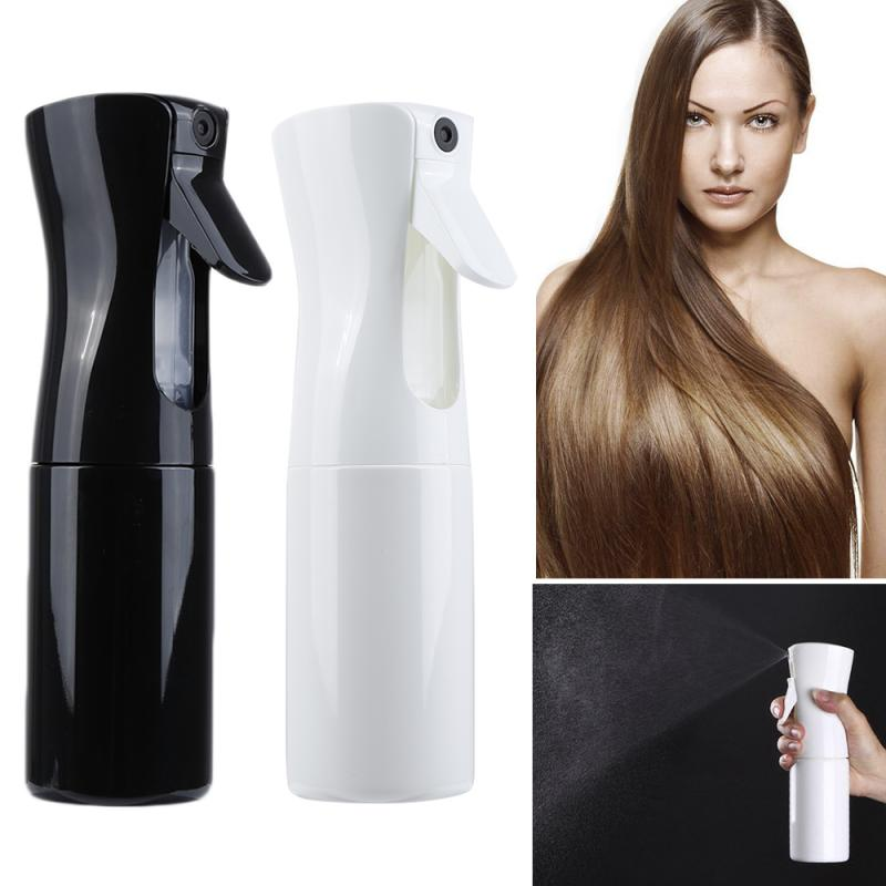 High Quality Durable Black And White Hair Spray Empty Bottle Hair Salon Home Professional Hair Spray