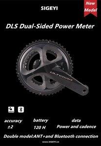 Image 2 - 시마노 ULTEGRA R8000 도로 자전거 자전거 크랭크 셋 SIGEYI DLS 미터 크랭크 170mm 172.5mm 크랭크 셋 업데이트 AX POWER