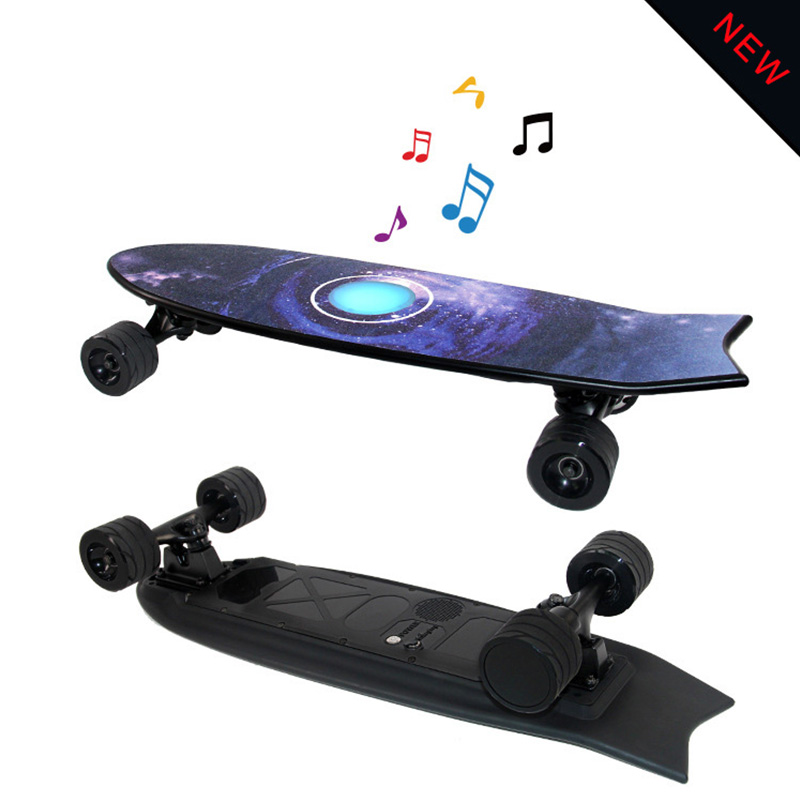 Longboard Electric Skateboard With Bluetooth audio and lantern Motor with Remote  1