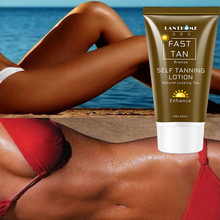 50ml Sunless Self Tanning Lotion Bronze Quickly Coloring  Face Body Natural Tan Cream