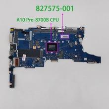 HP EliteBook 745 755 G3 serisi 827575 001 827575 501 UMA A10 Pro 8700B Laptop anakart anakart için test ve mükemmel çalışma