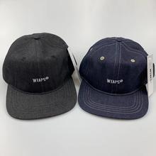 WTAPS hafty płaskie rondo czapka z daszkiem mężczyźni kobiety Denim tata kapelusz czapka z daszkiem Hip Hop czapki Trucker Golf odkryty regulowany Harajuku