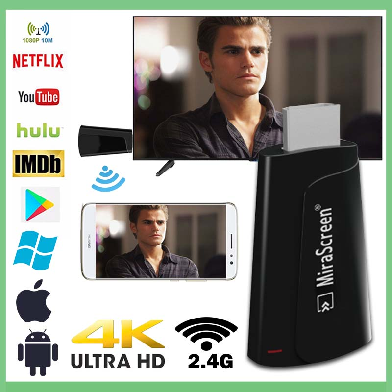 TV STICK 4k anycast fire airplay plus pc netflix android for google chromecast hdmi wifi cromecast wireless mini adapter cuenta in TV Stick from Consumer Electronics