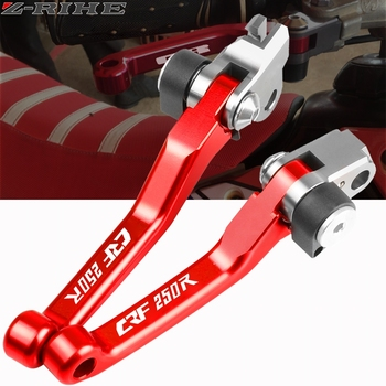 For HONDA CRF250R CRF 250 R 250R CRF250 R 2007 2008 2009 2010-2018 Motocross CNC Pivot Brake Clutch Levers Dirt Bike Motorbike image