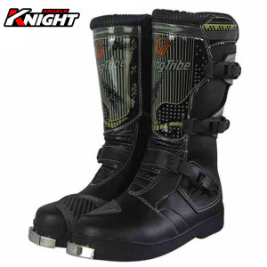 Image 1 - PRO BIKER Motorcycle Boots Men Riding Boots Racing Motocross Boots Off Road Motorbike Riding Moto Boots Waterproof Shoes