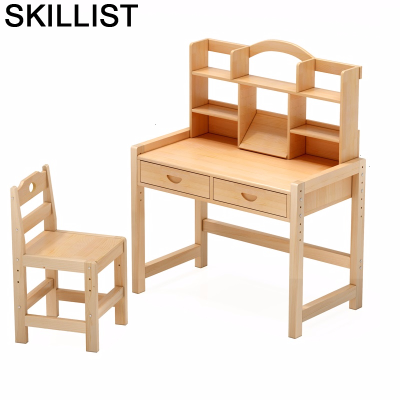 Toddler Kindertisch Stolik Dla Dzieci Avec Chaise Pupitre Children Adjustable For Mesa Infantil Bureau Enfant Study Kids Table