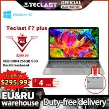 Teclast F7 Plus 노트북 14.1 인치 노트북 8GB RAM 256GB SSD Windows 10 인텔 제미니 호수 N4100 쿼드 코어 1920x1080 초박형