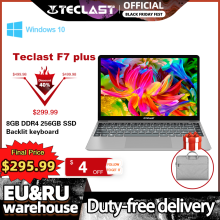 Teclast F7 Plus Laptop 14.1 Cal Notebook 8GB RAM 256GB SSD Windows 10 Intel Gemini Lake N4100 czterordzeniowy 1920x1080 Ultra cienki