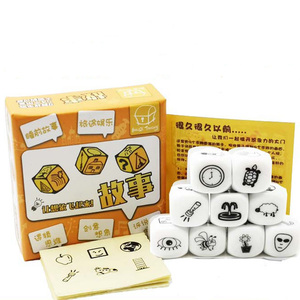 Party Games Story Dice Puzzle