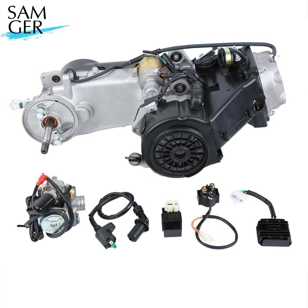 Samger GY6 150CC 4-Stroke Engine Kit gy6 scooter engine 7000r/min Scooter ATV Go Kart Scooter Moped <font><b>Motor</b></font> <font><b>125cc</b></font> image
