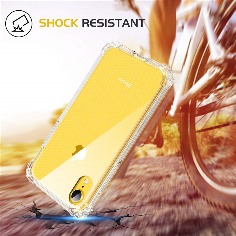 Clear Shockproof Silicone Case For iPhone X XR XS Max Soft Transparent TPU Cover For iPhone 10 7 8 Plus 6 6s plus 5 5s SE Shell 1