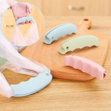 2pc Grocery Shopping Bag Silicone Lifting Holder Handle Grip Easy Carrying Tool Non-slip Grooves Surface Carrier save energy