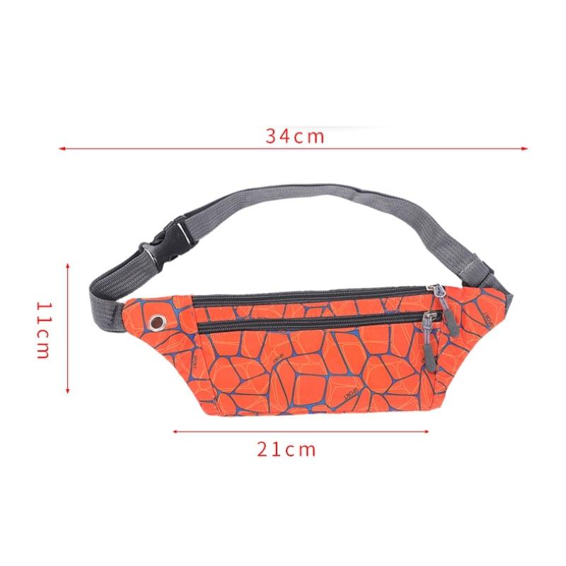 New Running Waist Bag Breathable Sport Jogging Pack Cycling Phone Pouch Lightweight Belt Wallet Adjustable Hip Bum Pack