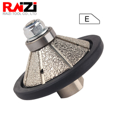 Raizi Diamond Profile Grinding Wheel E Type Bevel Shape for Granite Marble Stone M14