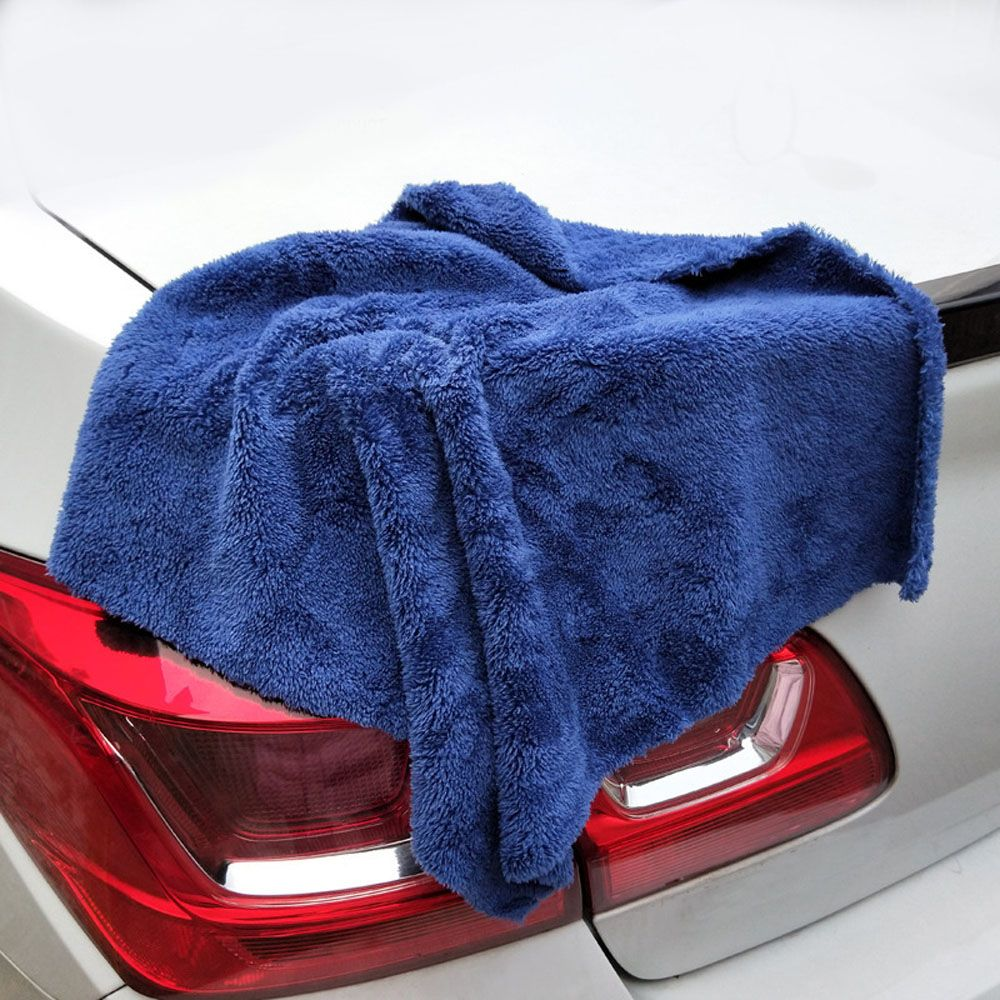 Premium Super Absorbent Microfiber Car Detailing Towel Ultra Soft Edgeless Towel Perfect For Car Washing Drying 40X40CM 350GSM