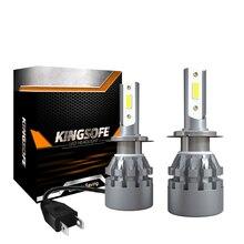 LSlight 6000K H1 H7 LED 9005 9006 HB3 HB4 H4 LED H11 H9 H8 High Low Beam Car Lights 12V Headlight Bulb Auto Lamps 8000LM 1 set h4 h7 h11 h8 9006 hb4 h1 h3 hb3 turbo led canbus auto car headlight 36w 3800lm led far low beam bulb automobile lamp 6000k