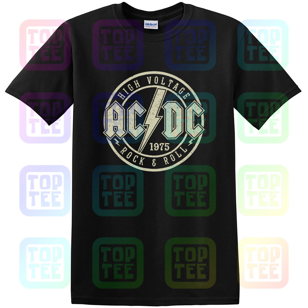 New AC /& DC Hells Bells Rock Band Long Sleeve Black T-Shirt Size S-3XL