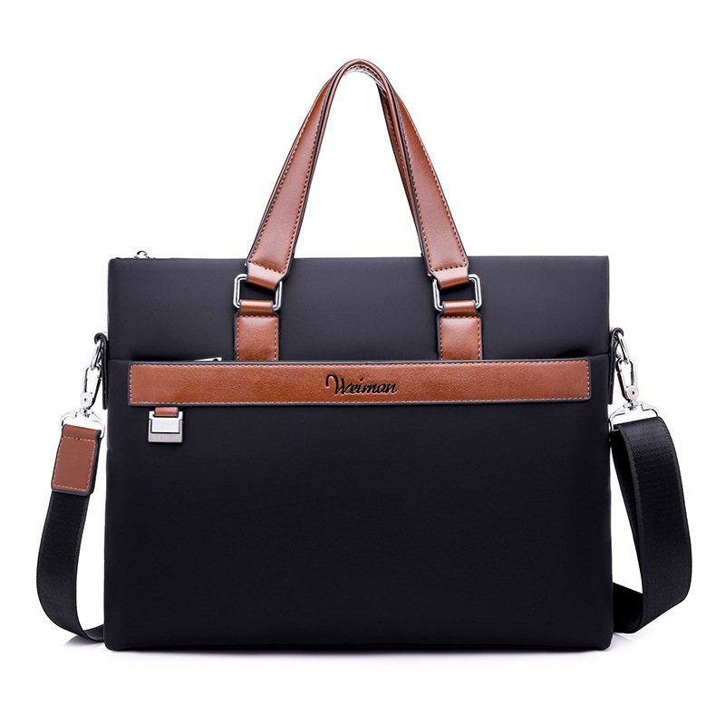 Men Oxford Business Briefcase Office Travel Messenger Large Tote Women Computer Work Bags Business Trip A4 File 14 In Laptop Bag
