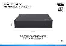 Z83 3 MINI PC USB Intel Atom Z8350 1.92GHz 4 go de RAM 64 go ROM windows 10 Bluetooth 4.0 4K WiFi 1000M LAN win10 Smart TV Box T7(China)